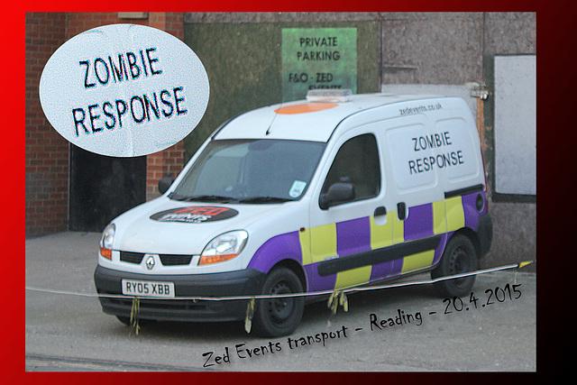 Zombie Response unit - Reading - 20.4.2015