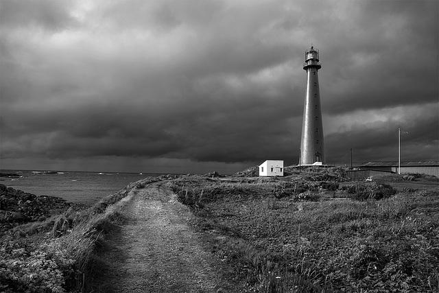 iron cast lighthouse