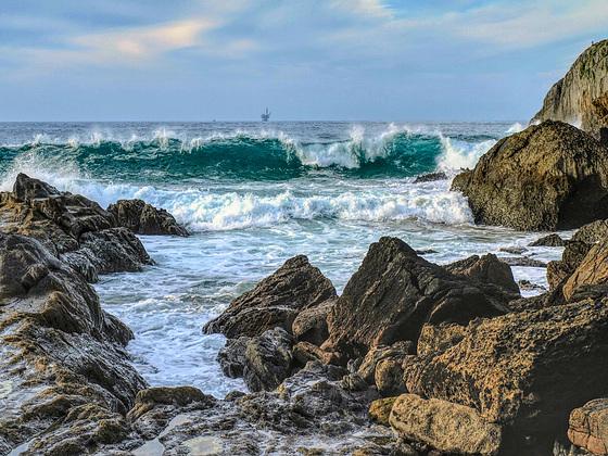 Las olas de Laga