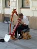 Bratislava- Harpist