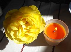 Lichtblick mit Rose - lumeto kun rozo