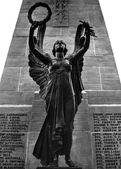Statue of Victory, Cenotaph, Levengrove, Dumbarton
