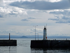 Chalmers Lighthouse Anstruther Looking Across the Firth of Forth Towards North Berwick