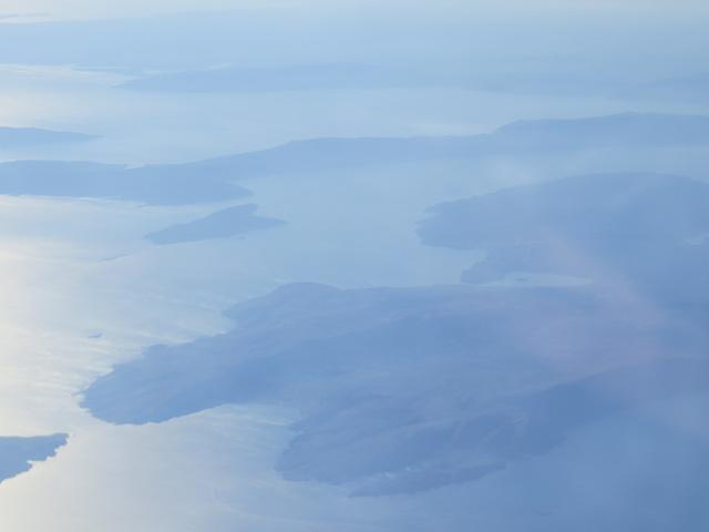 Îles de Croatie du nord.