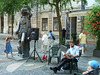 Bratislava- Story Telling by the Hans Christian Andersen Statue