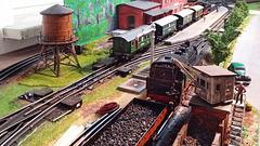Kleines Bahnbetriebswerk