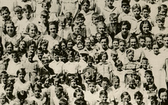 Vacation Bible School, St. John's Lutheran Church, Slatington, Pa., July 1, 1936 (Detail)