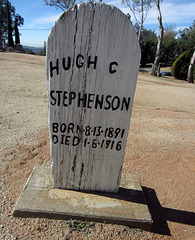 Hugh C Stephenson - Alpine Cemetery (2759)