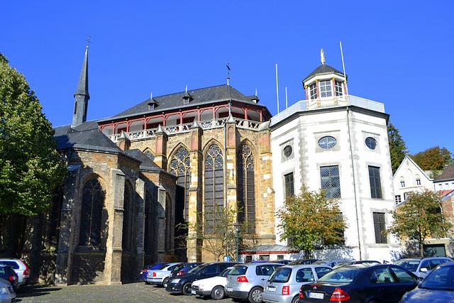 Benedictijner ABDIJ  uit 817 met Cornelius kapel