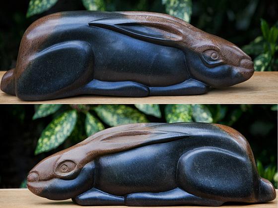 Rabbit from Zimbabwe serpentine