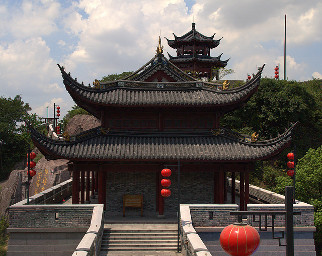 Pagodas In Zhenhai