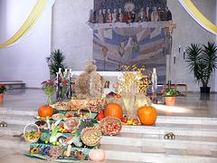 Erntedank in St. Barbara, Maxhütte