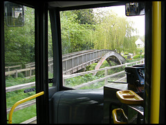 footbridge over the Mole