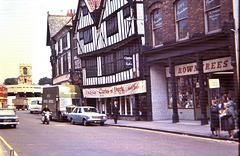 York (GB) Juillet / July 1968. (Diapositive numérisée).