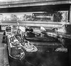 Regents Canal and Westway, London