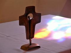 Lichtspiel und Kreuz