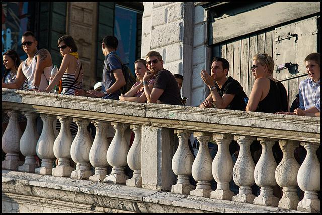 HFF - starker Zaun in Venedig