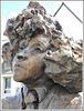 Statue de Colette par Roger Vène à Dinan (22)