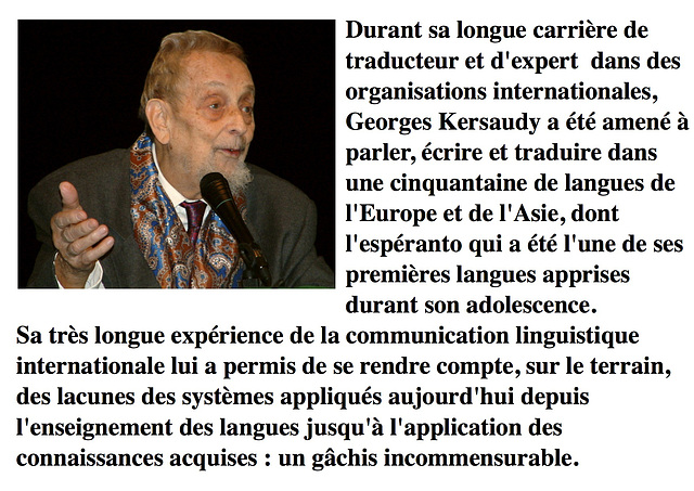 Georges Kersaudy, Pontivy, 29 novembre 2003