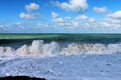 dans le creu de la vague