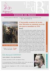 Dossier de presse - L'incroyable aventure de la mission Morestin-1