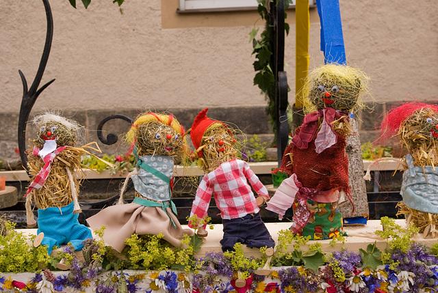 Brunnenfest 2008 in Wunsiedel