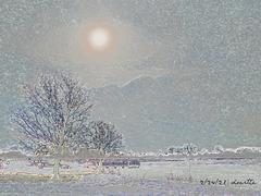 Winter Midday Sun