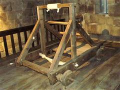 Catapult - wooden artillery.