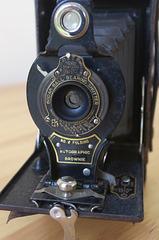 Vintage Kodak No.2 Folding Autographic Brownie circa 1919-1920