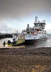 MV 'Loch Shira' at Largs Ferry Terminal