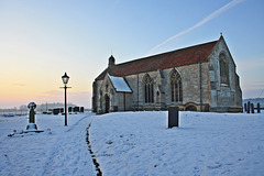 A winters evening at St. Mary's and All Saints church ~ South Kyme ~ Lincolnshire