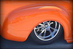 detail - classic car show