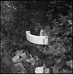 Hand basin, Loughborough Farm.