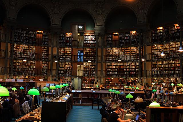 Un des rêves de ma femme , mais pas pour moi , aucun Picoti , Babar et Oui-Oui dans la Bibliothèque Nationale de France