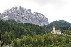 Kapelle auf dem Lavanter Kirchbichl