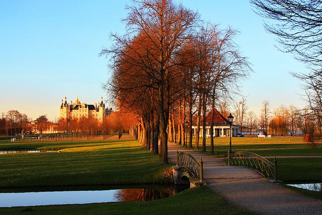 Schwerin, im Schlossgarten