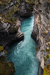 Athabasca River, Potholes