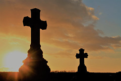 Les croix en feu