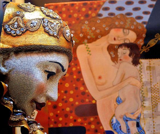 ... Pierrot et Klimt ...