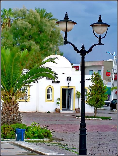 Hammamet : un angolo del centro città