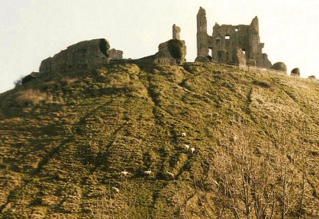 The Ruins of Corfe Castle