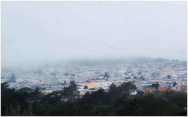 San Francisco Bay area fog