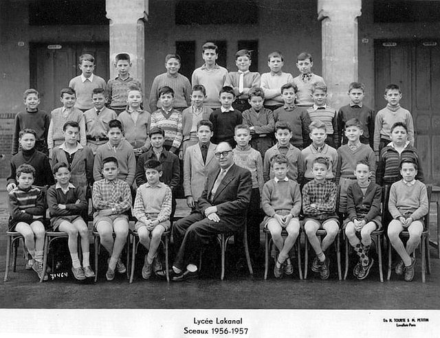 Sceaux (92) / Lycée Lakanal / 6eme / 1956-57