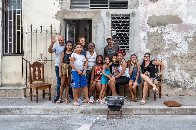 a Cuban family