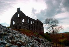 Ynys-y-Pandy-slate-mill, Cwmystradllyn