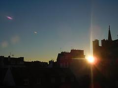 la météo vue de ma fenêtre ce matin