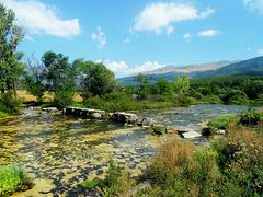 Stone bridge on the Cetina river