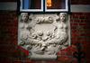 Detail am Kanzlei-Gebäude in Lübeck