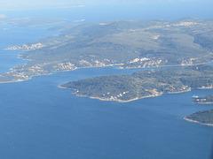 Littoral dalmate près de Split, 2