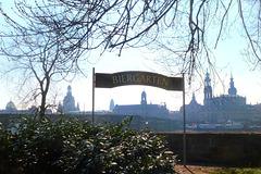 Radfahren im Frühling - Dresden bis Pillnitz